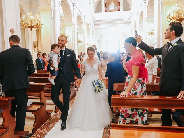 Il matrimonio di Valentina e Salvatore a Ragusa, Ragusa 36