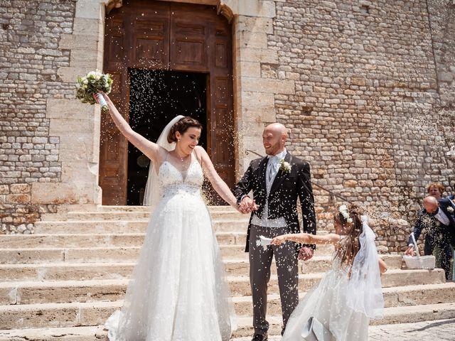 Il matrimonio di Giovanni e Laura a Sermoneta, Latina 78