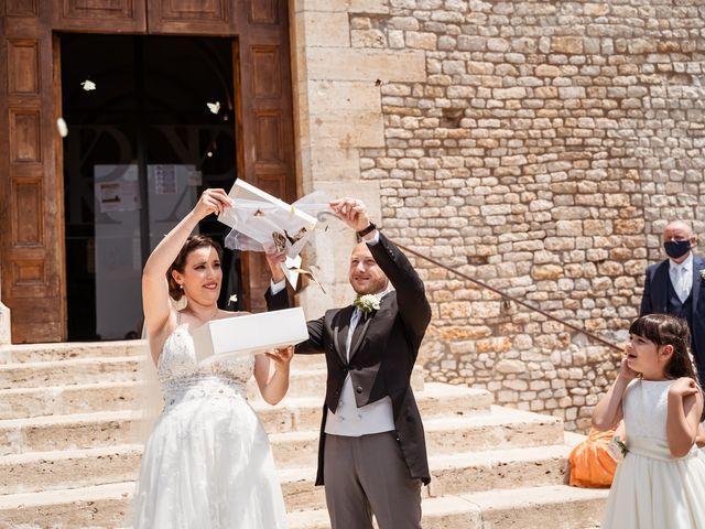 Il matrimonio di Giovanni e Laura a Sermoneta, Latina 81