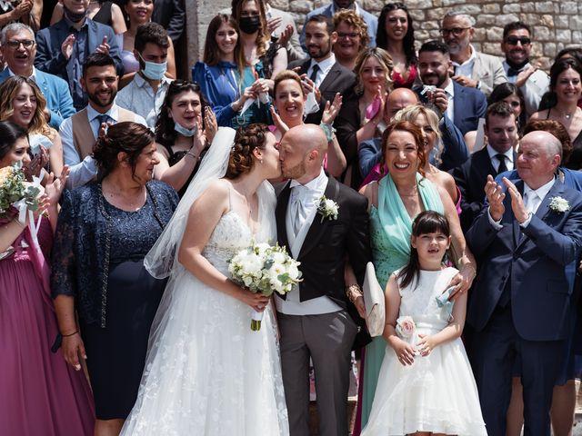 Il matrimonio di Giovanni e Laura a Sermoneta, Latina 85