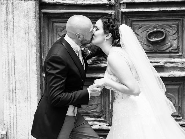 Il matrimonio di Giovanni e Laura a Sermoneta, Latina 91