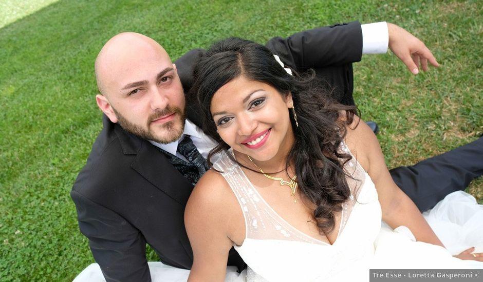 Il matrimonio di Vincenzo e Malki a Orvieto, Terni