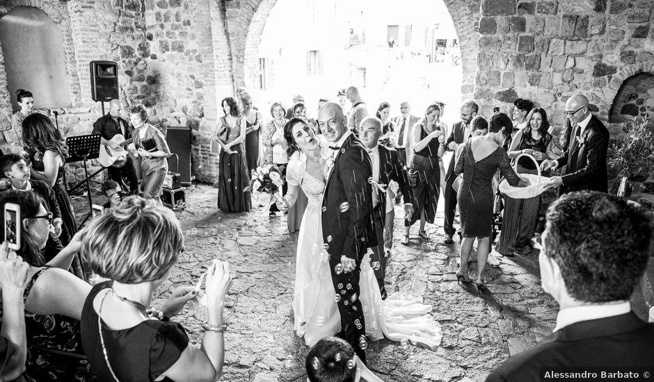 Il matrimonio di Emanuele e Daniela a Arquà Petrarca, Padova