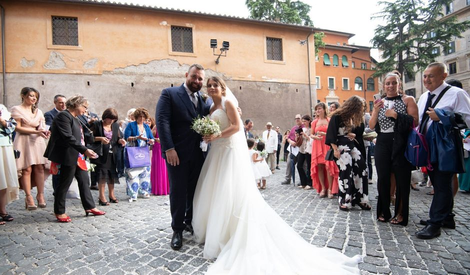 Il matrimonio di Alberto e Cristina a Roma, Roma