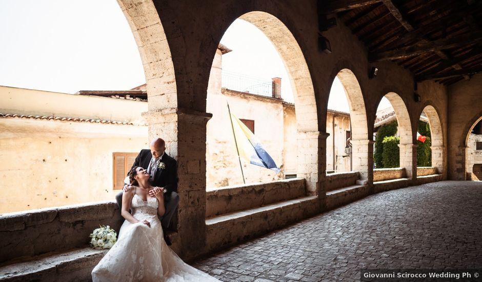 Il matrimonio di Giovanni e Laura a Sermoneta, Latina