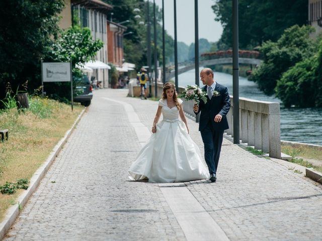Il matrimonio di Andrea e Maria Giulia a Robecco sul Naviglio, Milano 6