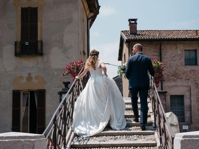 Il matrimonio di Andrea e Maria Giulia a Robecco sul Naviglio, Milano 15