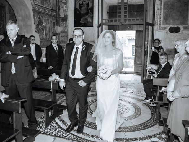 Il matrimonio di Marco e Francesca a Ceri, Roma 11