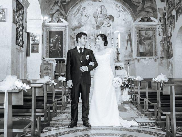 Il matrimonio di Marco e Francesca a Ceri, Roma 20