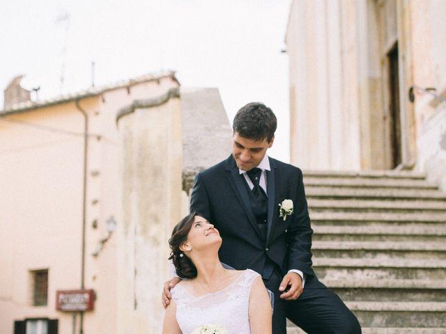 Il matrimonio di Marco e Francesca a Ceri, Roma 26