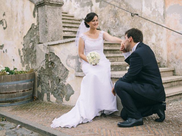 Il matrimonio di Marco e Francesca a Ceri, Roma 27