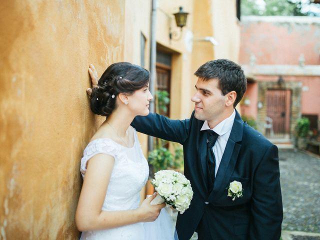 Il matrimonio di Marco e Francesca a Ceri, Roma 1