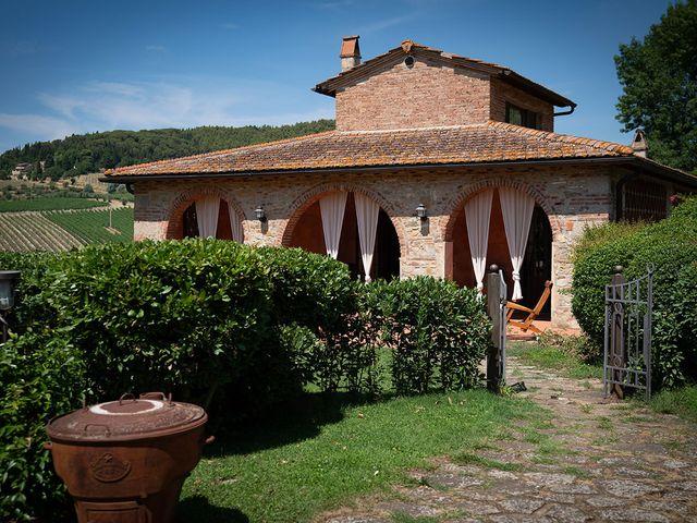 Il matrimonio di Dane e Nicola a San Casciano in Val di Pesa, Firenze 8