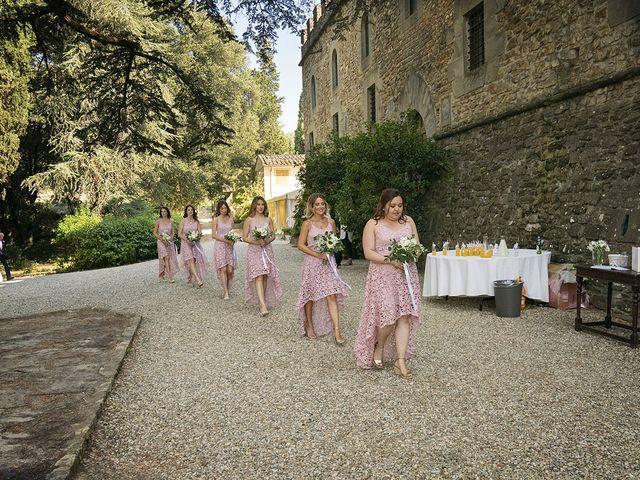 Il matrimonio di Dane e Nicola a San Casciano in Val di Pesa, Firenze 18