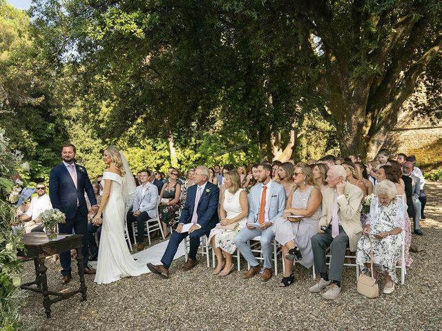Il matrimonio di Dane e Nicola a San Casciano in Val di Pesa, Firenze 24