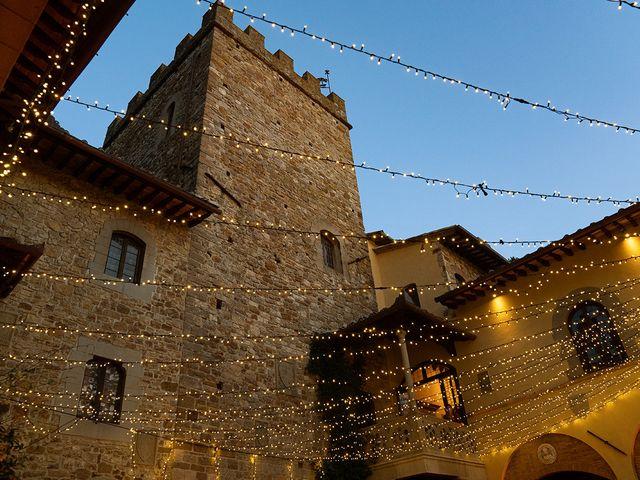 Il matrimonio di Dane e Nicola a San Casciano in Val di Pesa, Firenze 42