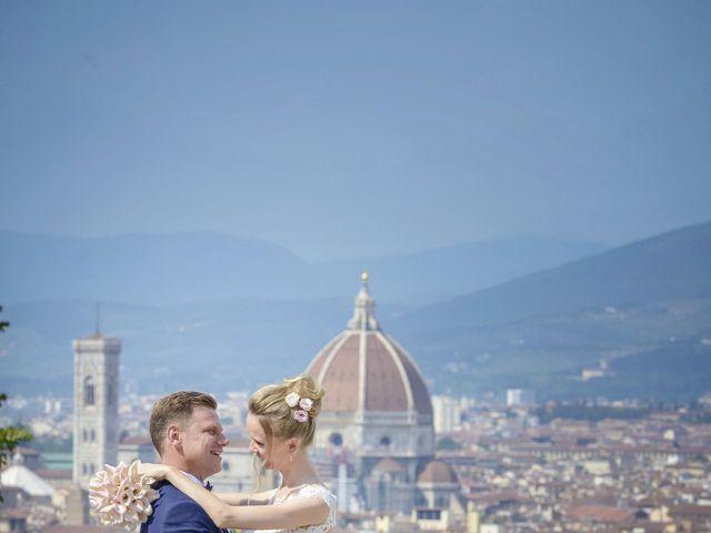 Il matrimonio di Simone e Emilia a Impruneta, Firenze 22