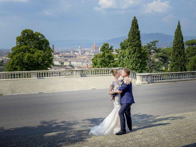 Il matrimonio di Simone e Emilia a Impruneta, Firenze 24