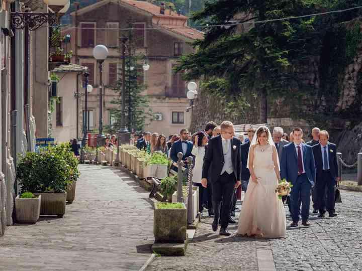 Le nozze di Raffaella e Pietro