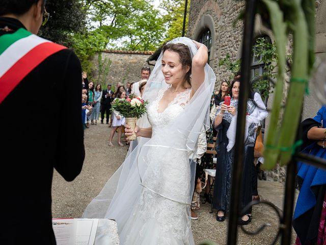 Il matrimonio di Corey e Carlotta a Barberino di Mugello, Firenze 61