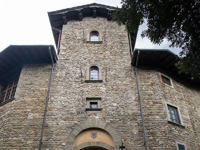 Il matrimonio di Corey e Carlotta a Barberino di Mugello, Firenze 81