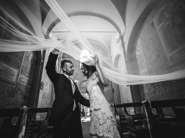 Il matrimonio di Mario e Giulia a Terricciola, Pisa 17