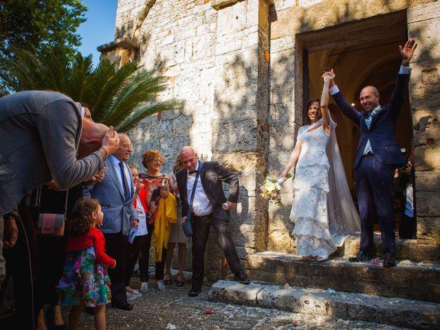 Il matrimonio di Mario e Giulia a Terricciola, Pisa 22
