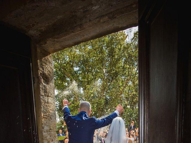 Il matrimonio di Mario e Giulia a Terricciola, Pisa 23