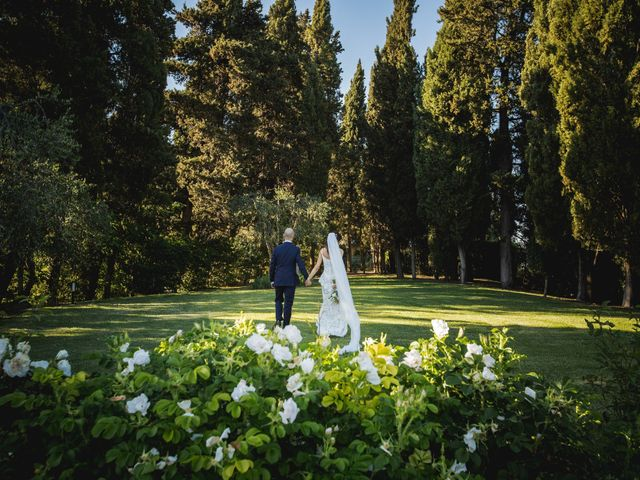 Il matrimonio di Mario e Giulia a Terricciola, Pisa 56