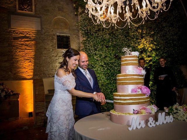 Il matrimonio di Mario e Giulia a Terricciola, Pisa 69