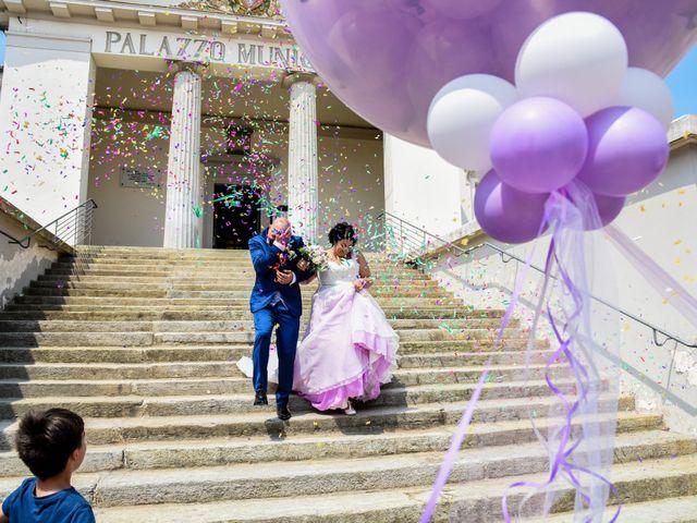Le nozze di Loredana e Francesco