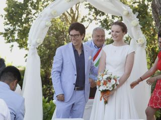 Le nozze di Zelda e Luis