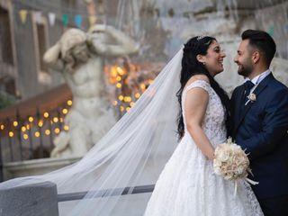 Le nozze di Vanessa e Damiano