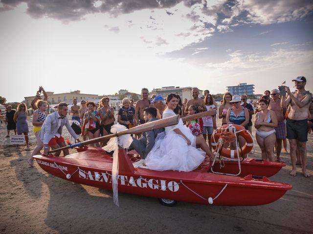 Il matrimonio di Gianmarco e Gloria a Bellaria-Igea Marina, Rimini 8