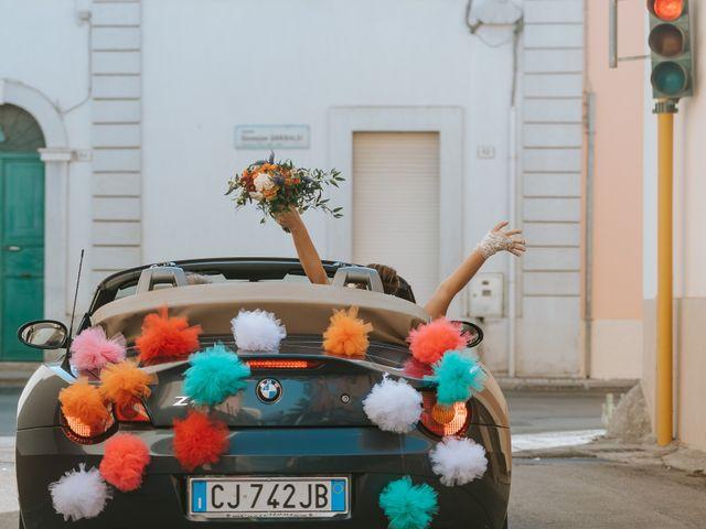 Il matrimonio di Salvatore e Monia a Specchia, Lecce 22
