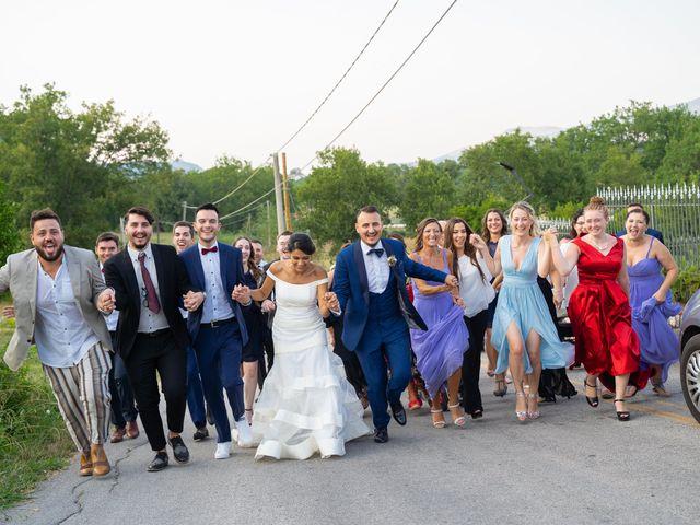 Il matrimonio di Valerio e Lucia a Sessa Aurunca, Caserta 256