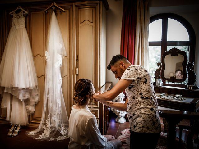 Il matrimonio di Federica e Simone a Castel Sant'Elia, Viterbo 3