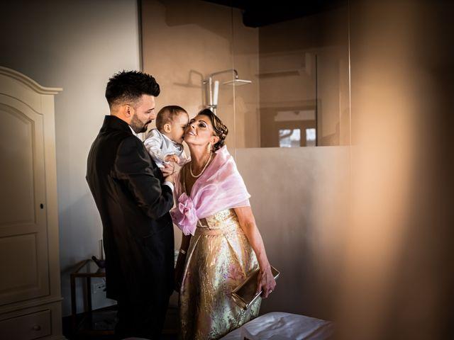 Il matrimonio di Federica e Simone a Castel Sant'Elia, Viterbo 19
