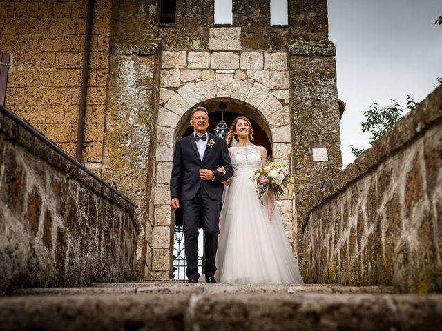 Il matrimonio di Federica e Simone a Castel Sant'Elia, Viterbo 21