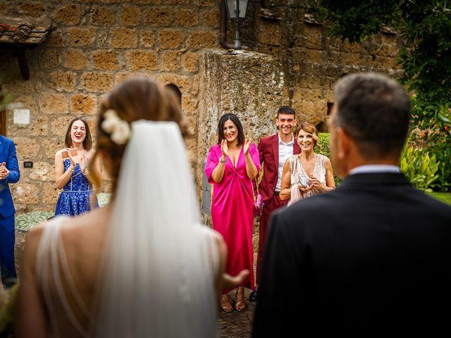 Il matrimonio di Federica e Simone a Castel Sant'Elia, Viterbo 22