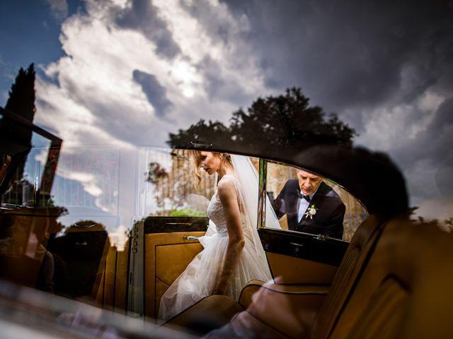 Il matrimonio di Federica e Simone a Castel Sant'Elia, Viterbo 23