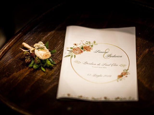 Il matrimonio di Federica e Simone a Castel Sant'Elia, Viterbo 25