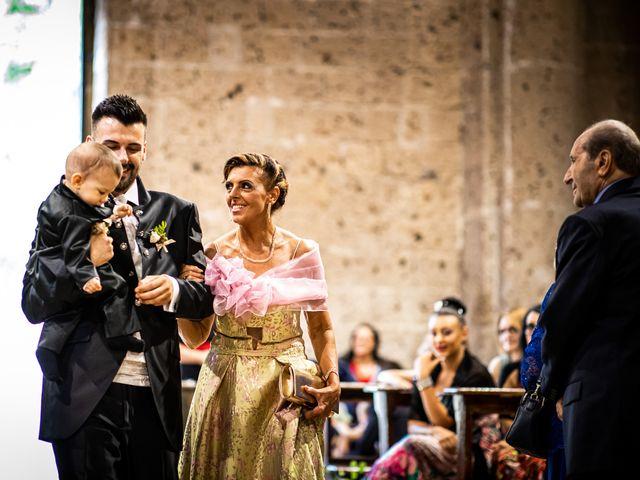 Il matrimonio di Federica e Simone a Castel Sant'Elia, Viterbo 26