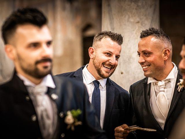 Il matrimonio di Federica e Simone a Castel Sant'Elia, Viterbo 27