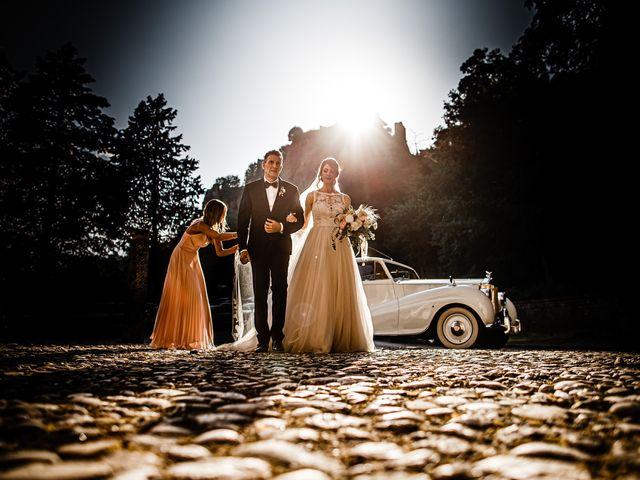 Il matrimonio di Federica e Simone a Castel Sant'Elia, Viterbo 29