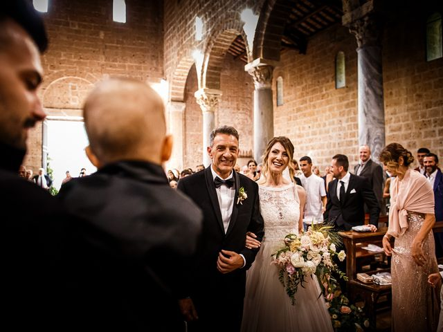 Il matrimonio di Federica e Simone a Castel Sant'Elia, Viterbo 32