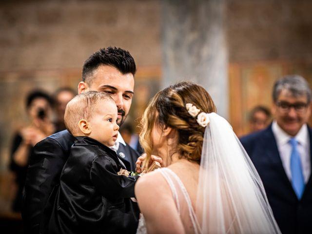 Il matrimonio di Federica e Simone a Castel Sant'Elia, Viterbo 33