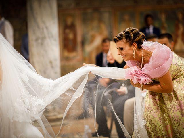 Il matrimonio di Federica e Simone a Castel Sant'Elia, Viterbo 34