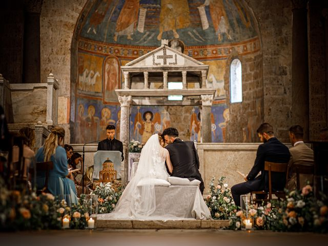 Il matrimonio di Federica e Simone a Castel Sant'Elia, Viterbo 35