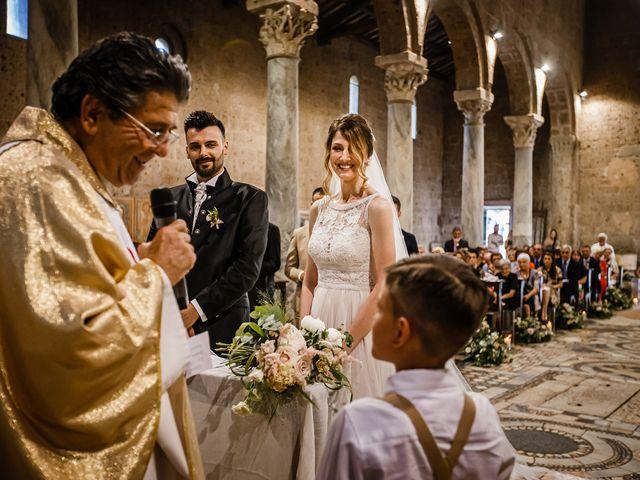 Il matrimonio di Federica e Simone a Castel Sant'Elia, Viterbo 37